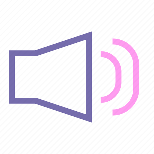 expanded, line, sound, ui, volume icon