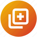 add, front, layer, new, two, ui, ux icon