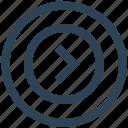arrow, direction, next, right, ui, ux icon
