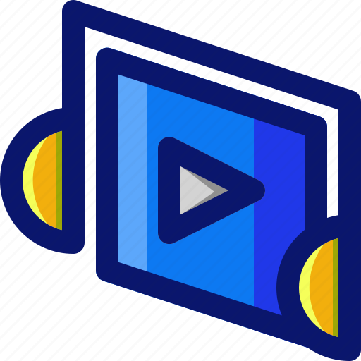 Multimedia, media, music, audio, player icon - Download on Iconfinder