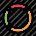 pie, chart, graph, report, diagram, data, circle