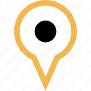 find, gps, location, pic icon