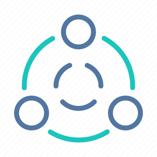 connection, interface, network, share, ui, user, ux icon