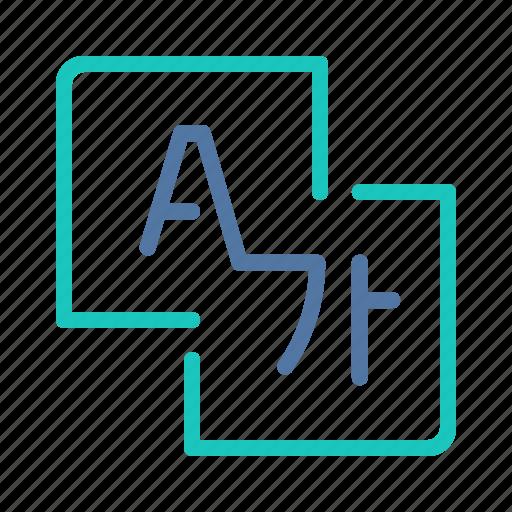 interface, languages, translate, translator, ui, user, ux icon