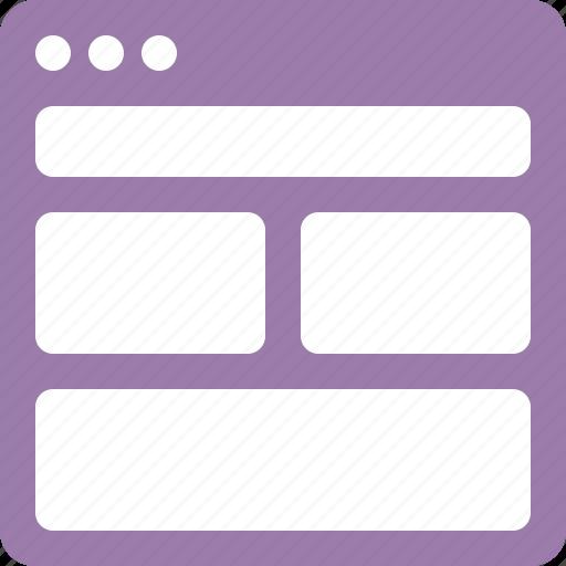 horizontal, interface, layout, mix, ui icon