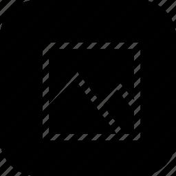 gallery, image, interface, landscape, pic, potrait, square icon