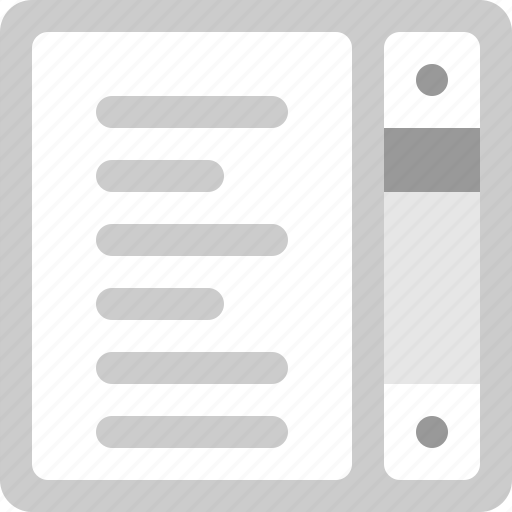 data, file, paper, scroll, text icon