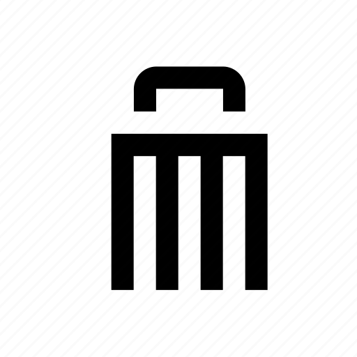 delete, dustbin, garbage, recyclebin, remove, trash, ui icon