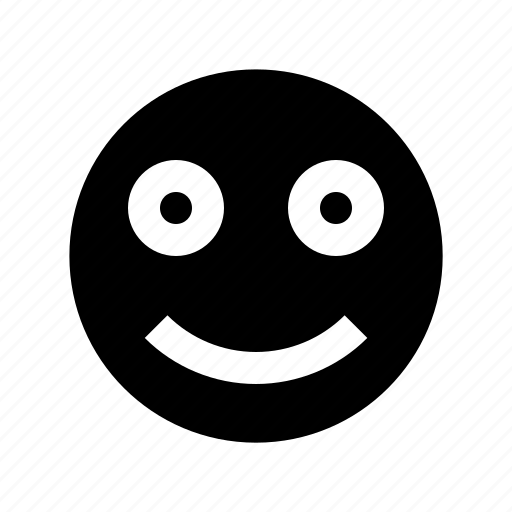 badge, emoji, face, fresh, round, smile, smiley icon