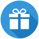 birthday, christmas, gift, present icon icon