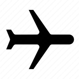 aeroplane, air, flight, interface, mode, plane, signal icon