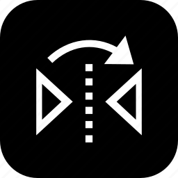interface, move, reflect, tool, transform, ui icon