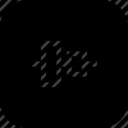 align, arrange, center, tool, ui, vertical, vertically icon