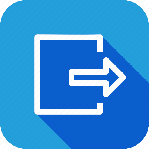 arrow, box, document, export, file, import, share icon