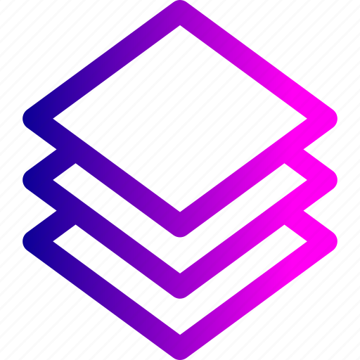 data, layer, layers, stack, tool icon