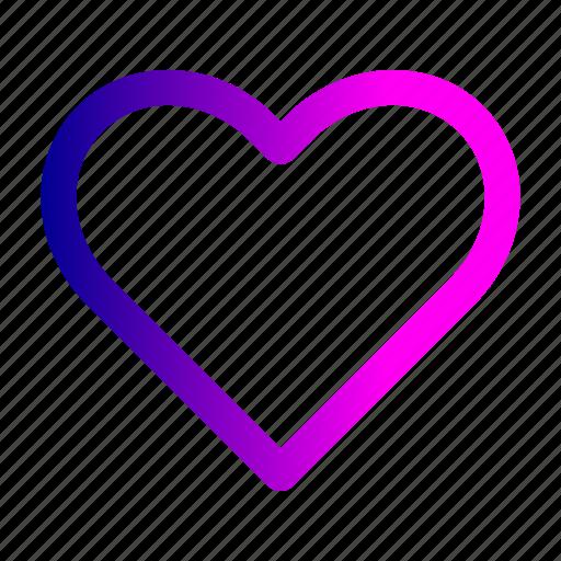 favorite, gift, heart, like, love, romance icon
