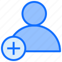 user, account, add, new, people, avatar, profile