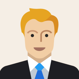avatar, business, costume, male, man, office, work icon