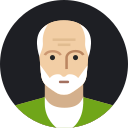 avatar, grandfather, male, man, mature, old, person