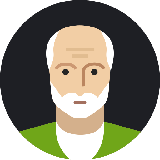 avatar, grandfather, male, man, mature, old, person icon