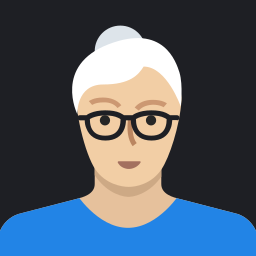 avatar, female, grandmother, mature, old, person, woman icon