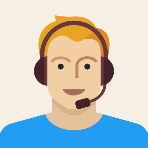 avatar, headset, male, man, person, support, young icon