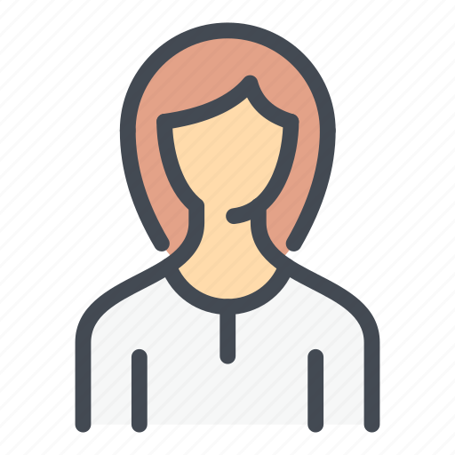 Account, avatar, female, person, profile, user, woman icon - Download on Iconfinder