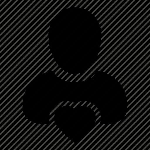 favorite, health, heart, like, user icon
