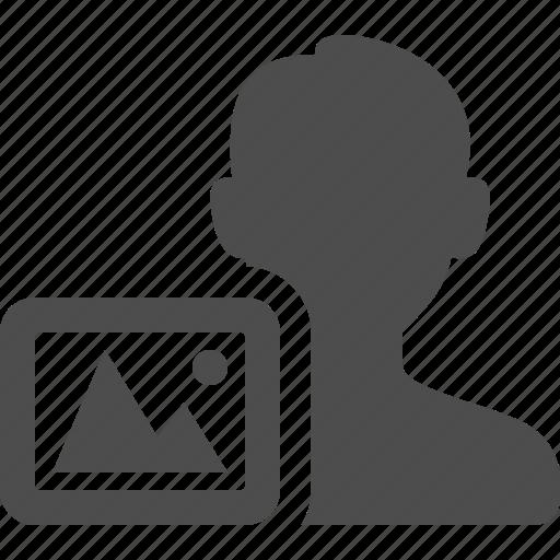 male, man, photo, user icon
