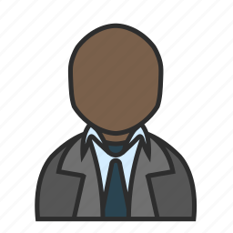 boss, business, job, office, suit, user, work icon