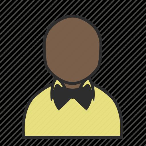 bowtie, male, person, profile, shirt, tie, user icon