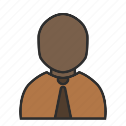 avatar, job, office, profile, tie, user, work icon