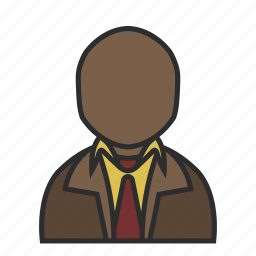 business, coat, old, shirt, suit, tie, user icon