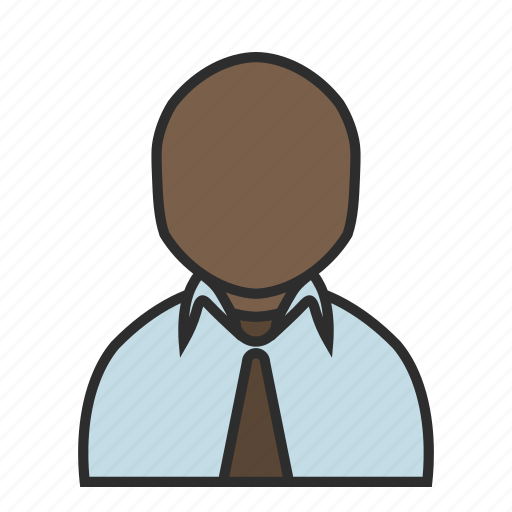 business, job, office, shirt, tie, user, work icon