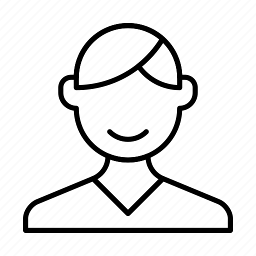 account, avatar, boy, man, person, profile icon