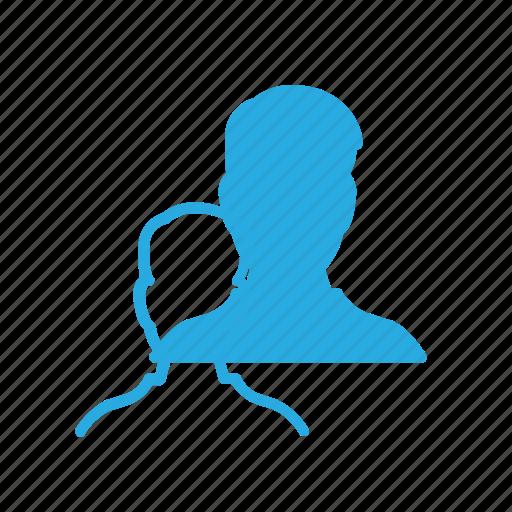 male, person, user icon