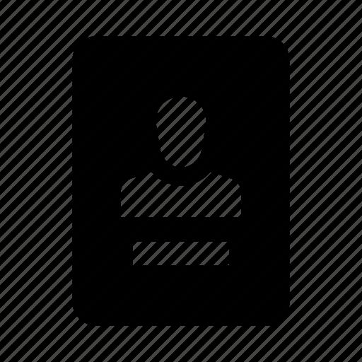badge, id, identification, pass icon