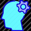 brain, head, intelligence, mind, setting, think, thinking