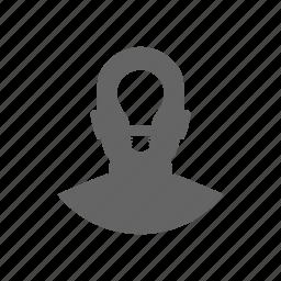 account, avatar, bolb, male, person, user icon
