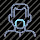 avatar, beard, face, male, person, profile, user