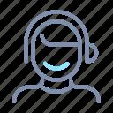 avatar, headset, male, man, person, profile, user