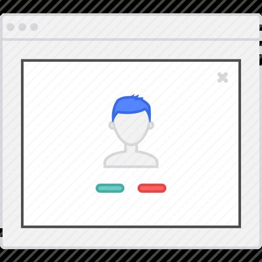 add, application, contact, diagram, flowchart, form, lightbox, login, sitemap, user flow, website, wireframe, workflow icon