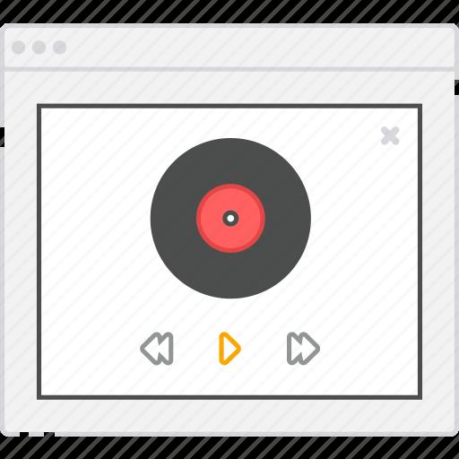 application, diagram, flowchart, form, lightbox, login, music, player, sitemap, user flow, website, wireframe, workflow icon