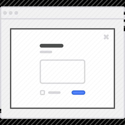 application, diagram, flowchart, form, lightbox, login, new, post, sitemap, user flow, website, wireframe, workflow icon