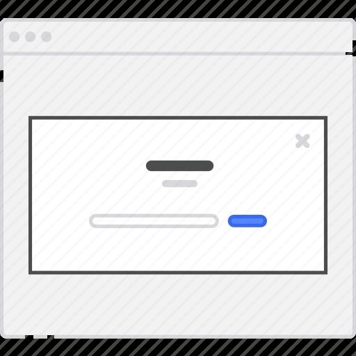 application, diagram, flowchart, form, lightbox, login, sitemap, subscribe, user flow, website, wireframe, workflow icon