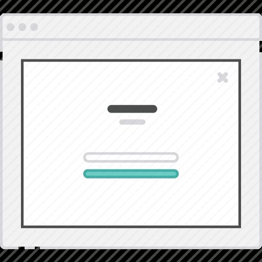 application, diagram, flowchart, form, lightbox, login, sitemap, user flow, verification, website, wireframe, workflow icon
