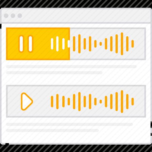 application, audio, flowchart, rows, scheme, sitemap, user flow, website icon