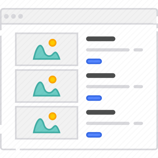 application, flowchart, rows, scheme, sitemap, user flow, website icon