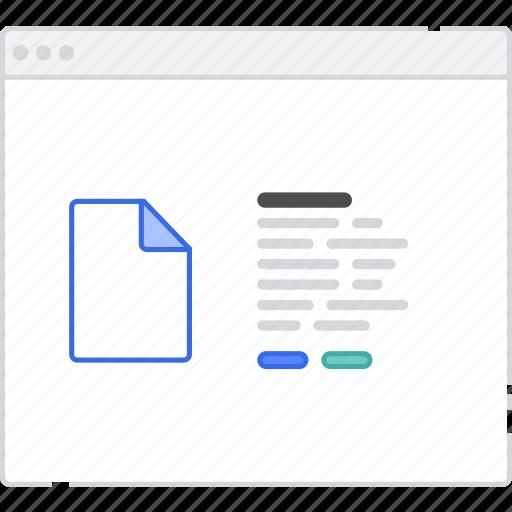 application, description, file, flowchart, scheme, sitemap, user flow, website icon