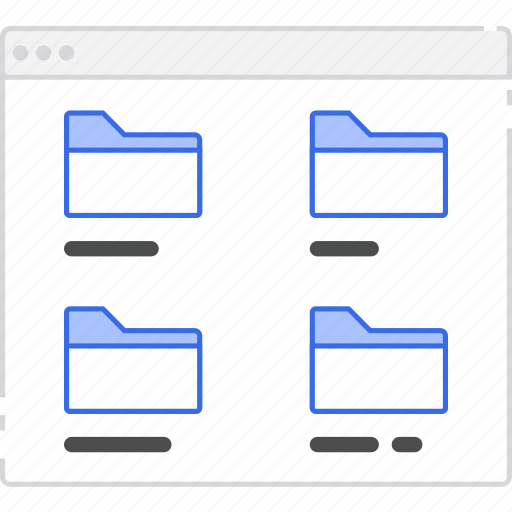application, flowchart, folder, grid, l, scheme, sitemap, user flow, website icon